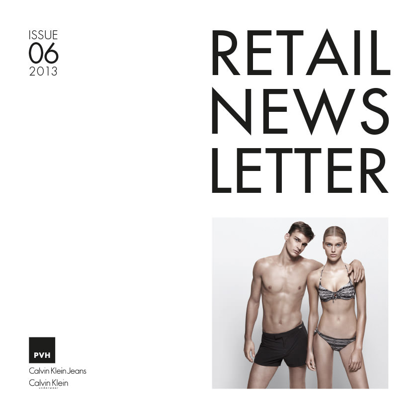 Calvin Klein Retail Newsletter