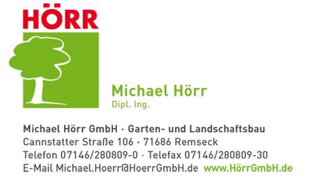 Garten und landschaftsbau visitenkarten  Hörr - Agentur Wilhelm | Design | Kommunikation | Werbung | Internet |